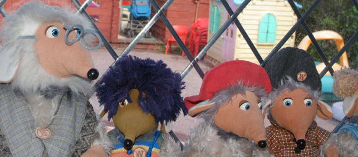 Local Day Nursery Childcare Waterlooville wombles in the front window